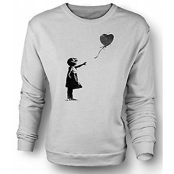 Kinder Sweatshirt-Banksy-Graffiti-Kunst - Ballon