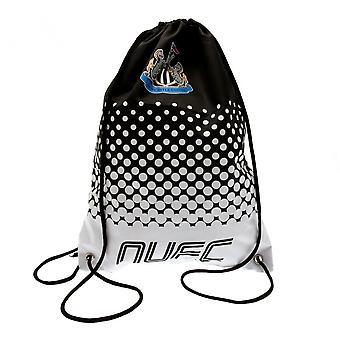 Newcastle United FC Fade Design Drawstring Gym Bag
