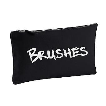 Pędzle Black Canvas makijaż torba