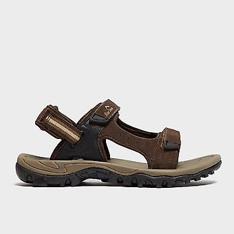Nieuwe Peter Storm mannen Braunton II sandalen bruin