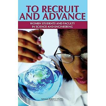 Per reclutare e avanzare: donne studenti e docenti di scienza e ingegneria