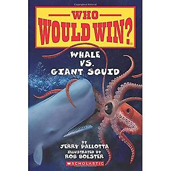 Baleine vs Giant Squid (qui va gagner?)
