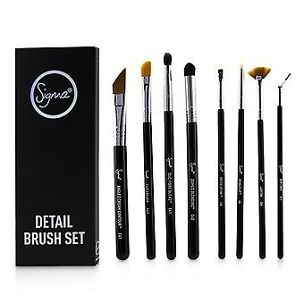 Sigma Beauty Detail Brush Set - 8pcs