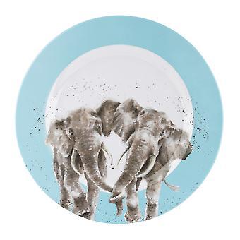 ريندالي التصاميم الفيل الميلامين واحدة لوحة العشاء