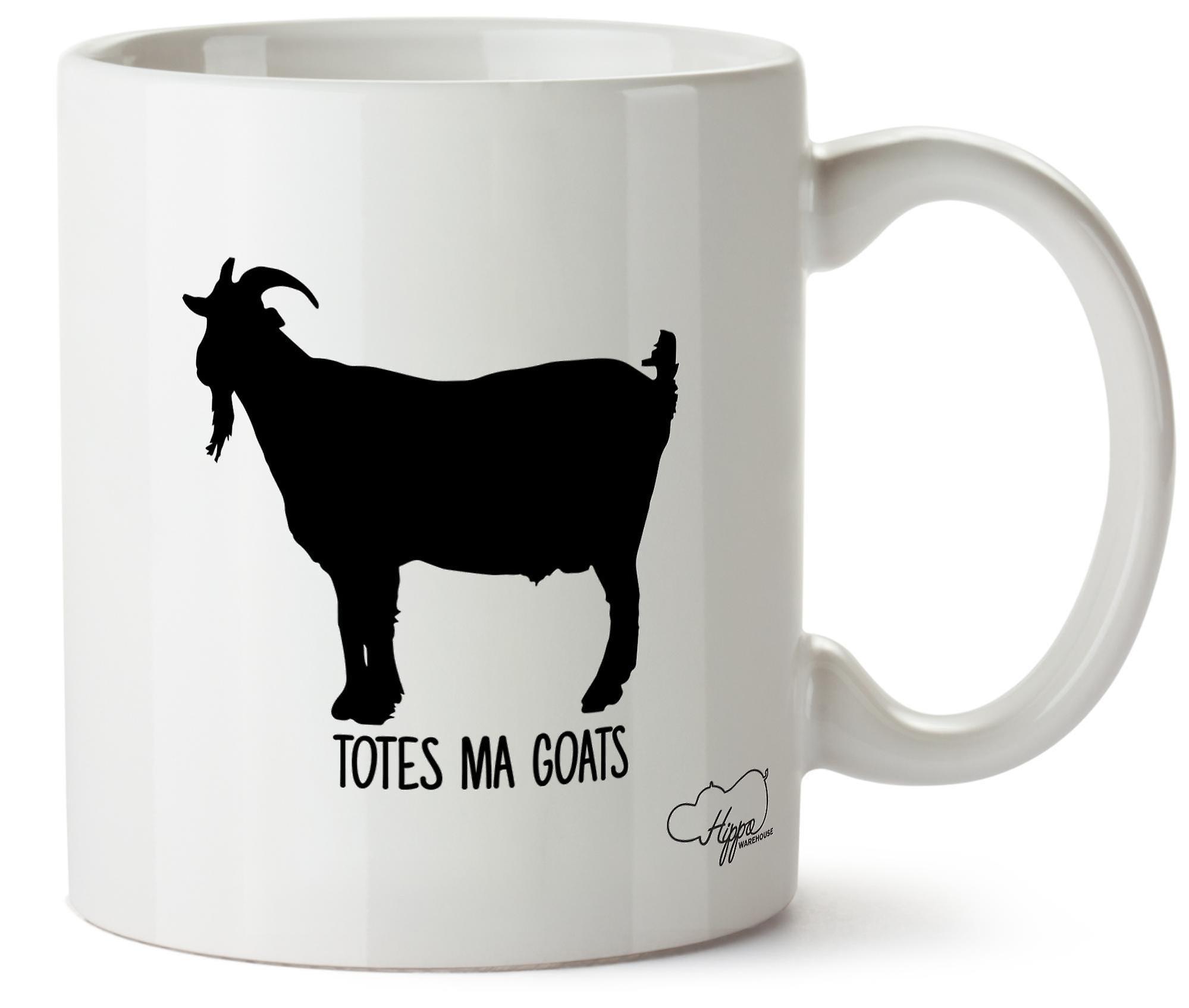 Hippowarehouse сумки Ма коз напечатаны Кубка керамическая кружка 10oz
