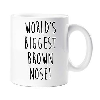 Verdens største brun nese krus