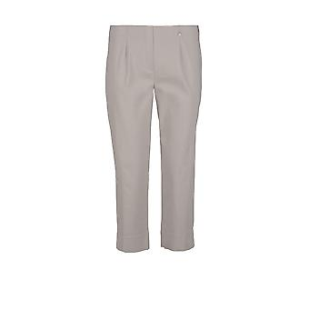 Robell Marie Cropped Trouser in Grey
