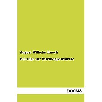 Beitrge zur Insektengeschichte par Knoch & August Wilhelm