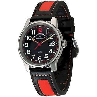 Zeno-watch mens watch classic pilot date 3315Q-matt-a17