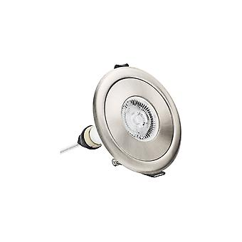 Integraal-LED IP65 brand rated downlight Spotlight ronde Satijn nikkel 70 100mm uitgesneden adapter nikkel IP65-ILDLFR70D006