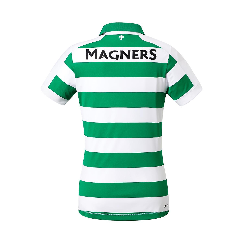 New Balance Celtic FC 2019/20 Womens Home Football Shirt White/Green