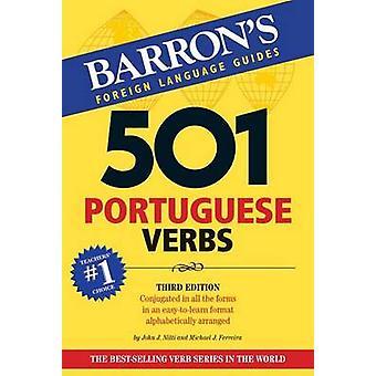 501 Portuguese Verbs (3rd Revised edition) by John J. Nitti - Michael
