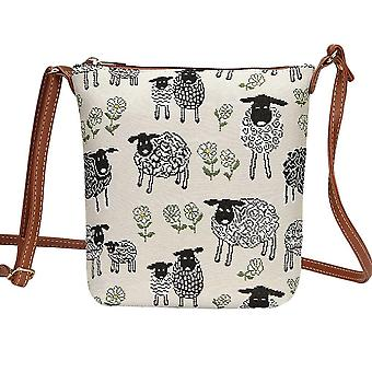 Spring lamb shoulder sling bag by signare tapestry / sling-splm