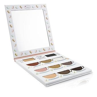 What's The Tea? Hot Tea Eyeshadow Palette (warm Shades With Eyelid Primer) - -
