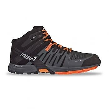 Inov8 Roclite 320 Gtx Mens Standard Fit Trail Running Shoes Black/grey/orange