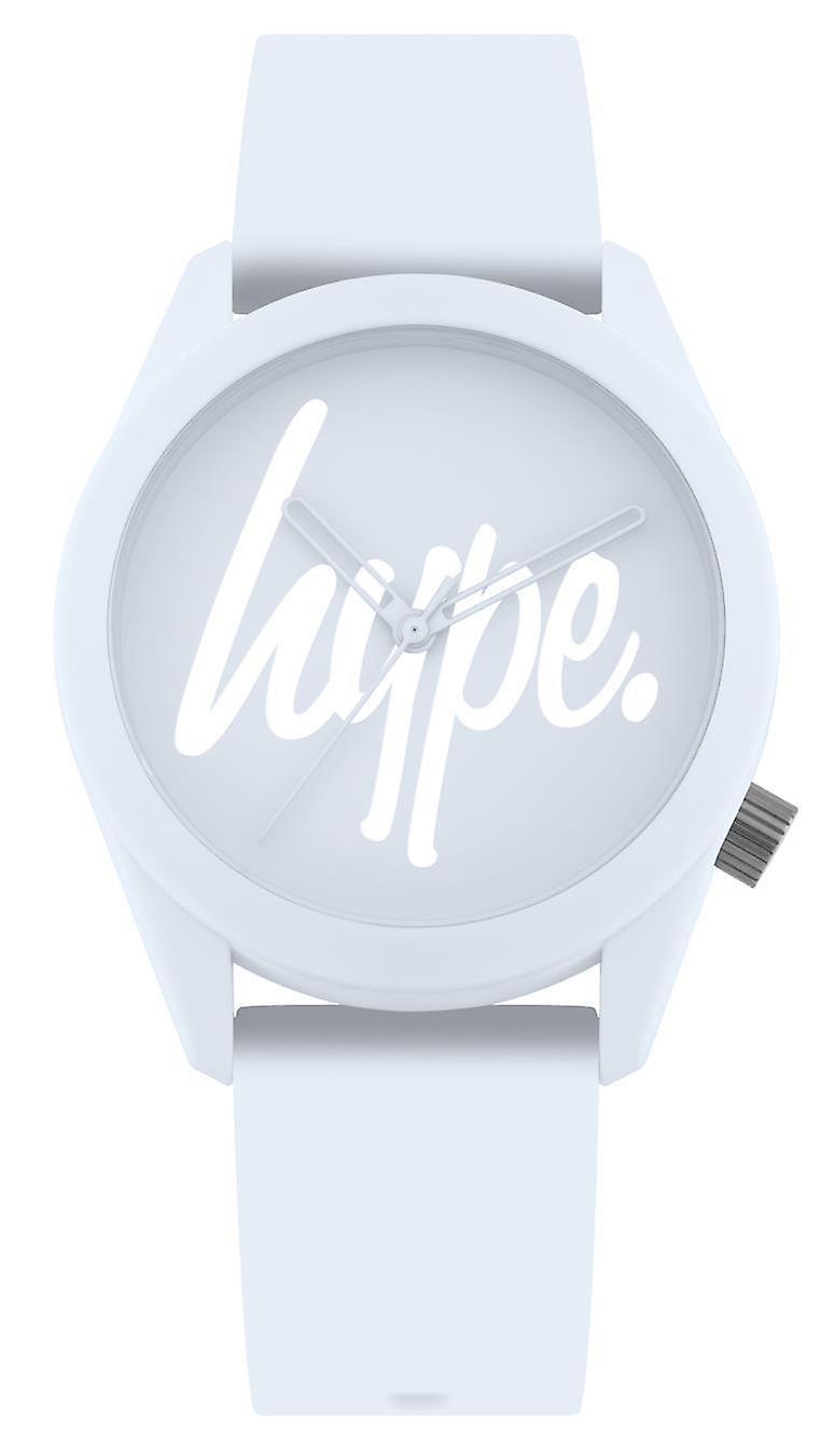 Hype Baby Blue Script Watch