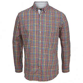 Hackett multi-check camisa Pin-Point