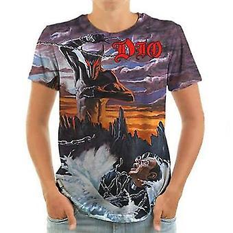 Born2rock - holy diver - dio mens t-shirt