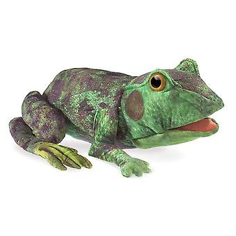 Hand Puppet - Folkmanis - Frog Life Cycle Soft Doll Plush 3115