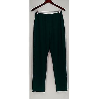 Susan graver vrouwen ' s broek Essentials Lustra Knit pull op groene A285514