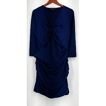 Nancy O'Dell Kleid stricken mit Front Twist ausgestattet Royal Blue Damen A420892