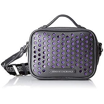 أرماني تبادل حقيبة كروسبودي الصغيرة - حقائب الصليب المرأة الرمادية 13.5x7x18 سم (B x H T)