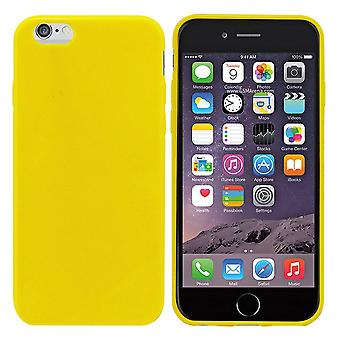 iPhone 6 Plus Silicone Case Light Yellow - CoolSkin