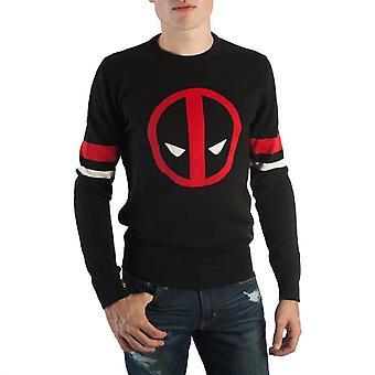 Deadpool-symboli musta miesten ' s pusero
