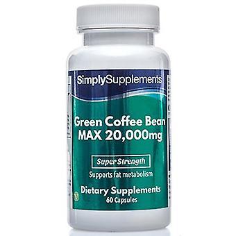 Vihreä-teen-papu-max - 20000mg