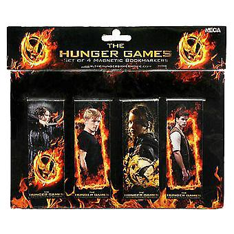 The Hunger Games Bookmarks Magnetic Set de 4