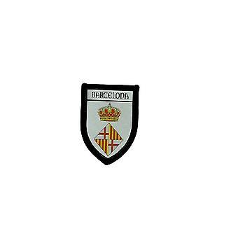 Echografie Brode Thermocollant prints Blason patch vlag Barcelona Barcelona