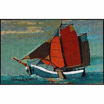 Rosina Wachtmeister mats wasbaar zeil weg 50 x 75 cm, SLD1313-050 x 075