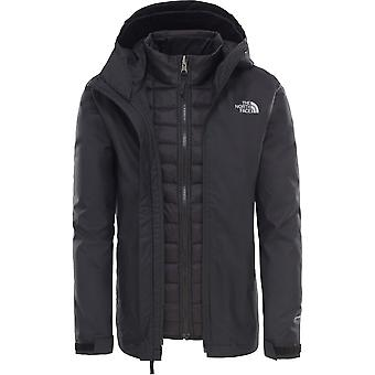 Die North Face Black Boys ThermoBall Triclimate Jacke