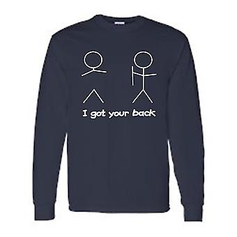 Men's I Got Your Back! Long Sleeve T-shirt