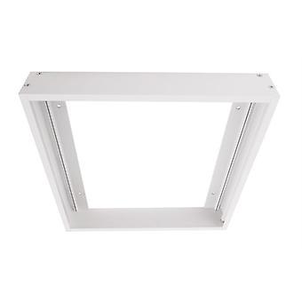 Quadro 300x300mm branco para painel LED