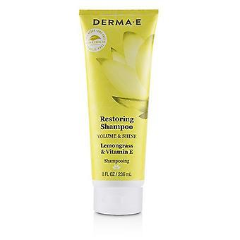 Derma E herstel Shampoo (Volume & Shine) 236ml / 8oz