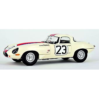 Jaguar E Type Lightweight Qvale No.23 Diecast Model Car