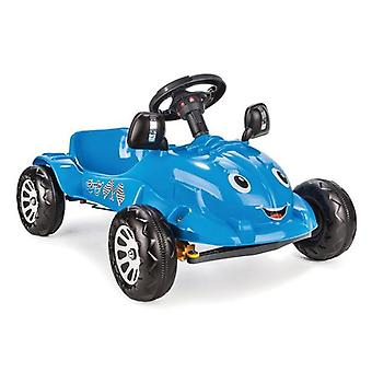 Pilsan children's car, pedal car Herby 07302 in blue, horn at the steering wheel, from 3 years