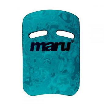 Maru Swirl Two Grip Fitness Kickboard - Dark Blue/Blue