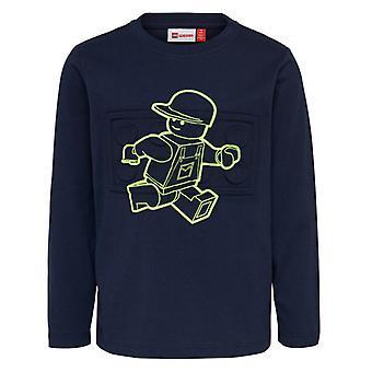 Lego nosić Legowear Tshirt Tobias Fluo Rysunek