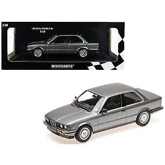 1982 BMW 323i Metallic Gray Limited Edition à 400 pièces dans le monde 1/18 Diecast Model Car par Minichamps