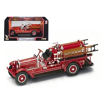 1924 Stutz Model C Fire Engine Red 1/43 Diecast Model Car by Road Signature