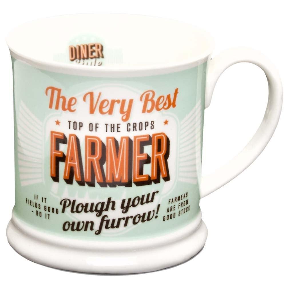 Diner Style Mugs Farmer