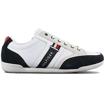Tommy Hilfiger Corporate FM0FM02398-020 Men's Shoes White Sneaker Sports Shoes
