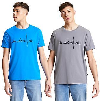Dare 2b hombres diferencian camiseta ligera de algodón camiseta