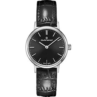 كلود برنارد - ساعة اليد - النساء - سليم لاين - 20215 3 NIN