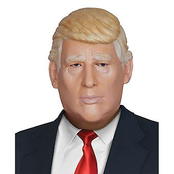President Donald Trump US Politician Mens Costume Overhead Latex Mask