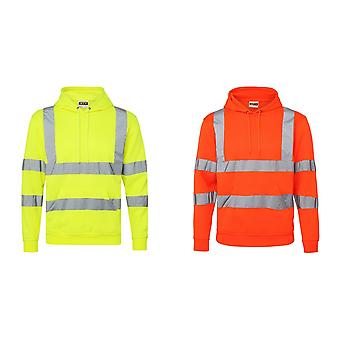 RTY High Visibility Unisex Reflective Hoodie (Pack of 2)