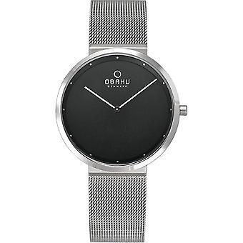 Obaku Papir Lille Onyx Women's Wristwatch V230LXCBMC
