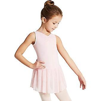 Capezio Girls' Toddler Pinch Front Tank Dress, Pink